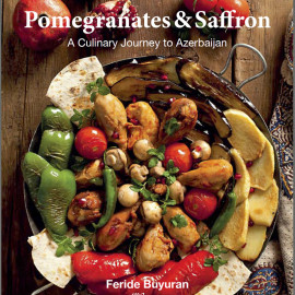 Pomegranates And Saffron Book Cover
