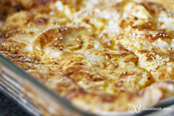 Soft Spinach Pie (Borek)