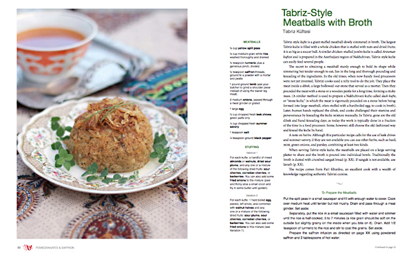 Tabriz-Style Meatballs