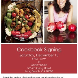 My First Cookbook Signing Event
