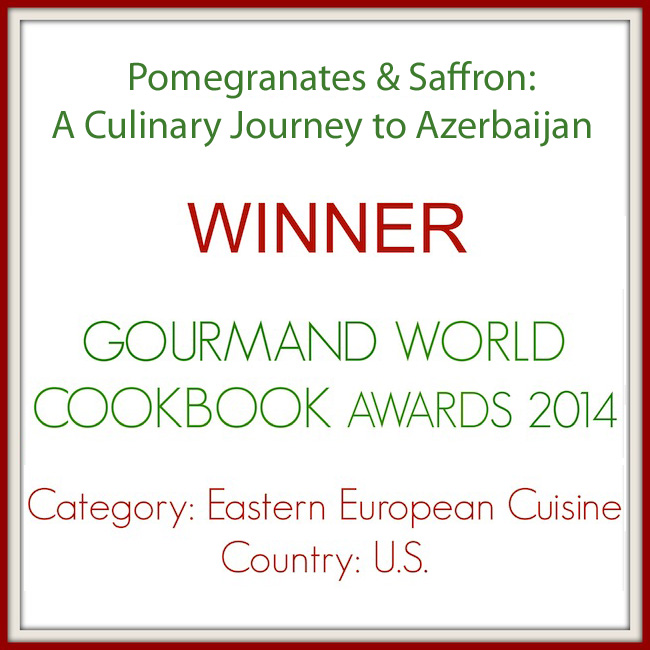 Winner of Gourmand World Cookbook Award
